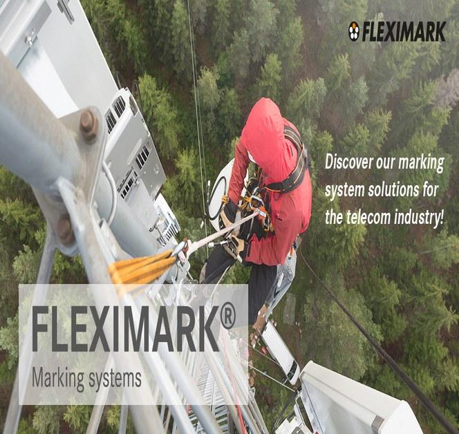 FLEXIMARK märkning för Telecom, fiber och 5G