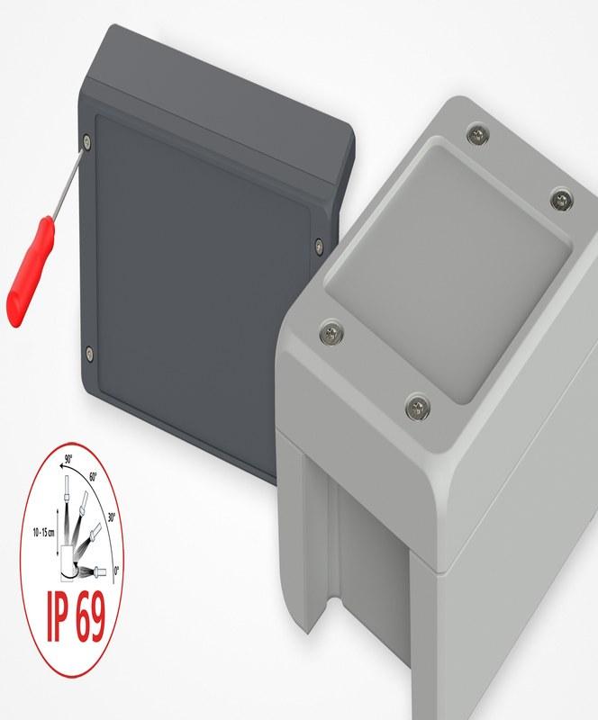 Bocube Alu S – modernt designad elektronik- och industrikapsling med lockskruvar