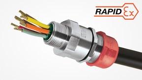 PXSS2KREX – barriereforskruning Ex d/Ex e/Ex nR/Ex ta med tætningsmasse til uskærmet kabel