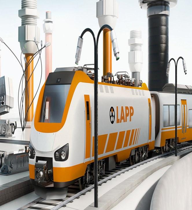 Soluciones LAPP Para el mercado ferroviario