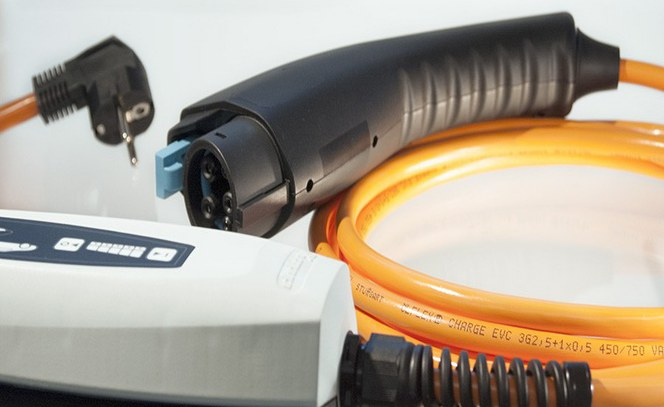 Ladekabel til el-biler fra LAPP Danmark