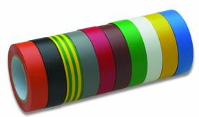 Набор ізоляційної стрічки із 10 кольорів