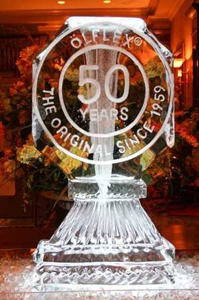 50 Years OLFLEX Ice Scultpture