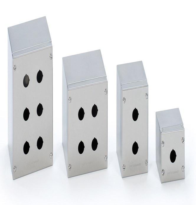 Trykknapskasser SPN i rustfrit stål