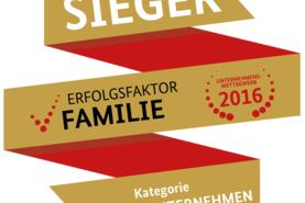 """Auszeichnung """"Familienfreundlichstes Unternehmen Deutschlands"""""""