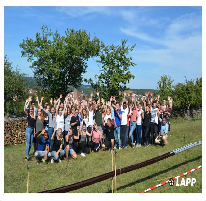 Bild Ausbildung Gruppenbild TT 92018 Das erwartet Dich bei LAPP