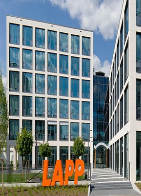 Новый офис Lapp Group в Штутгарте.