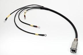 Cable con terminales en anillo