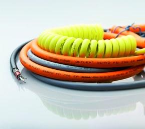 Cable espiral de LAPP