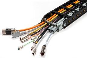 Cadenas portacables - Nylon Cable Chains