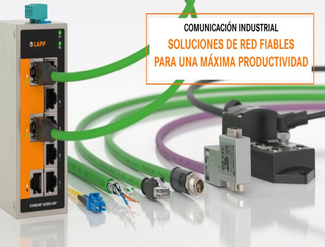 Soluciones fiables de cableado para comunicaciones industriales