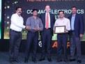 Cotmac Electronics receiving the Best Dealer Award in Western Region
