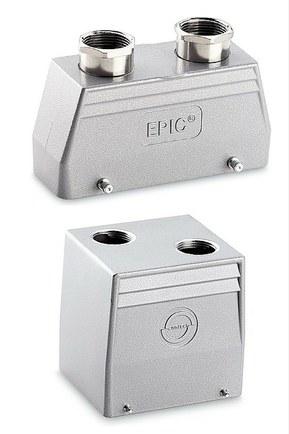 Pouzdra průmyslových konektorů řady EPIC©H-A a H-B
