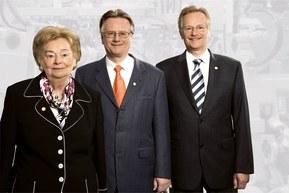 Ursula Ida, Andreas y Siegbert Lapp