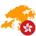 Hong kong 300x300 Flag