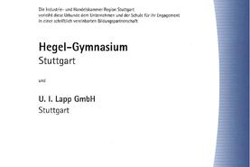 Bildungspartnerschaft Hegel-Gymnasium Stuttgart_seit 9/2010