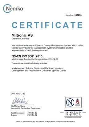 ISO sert