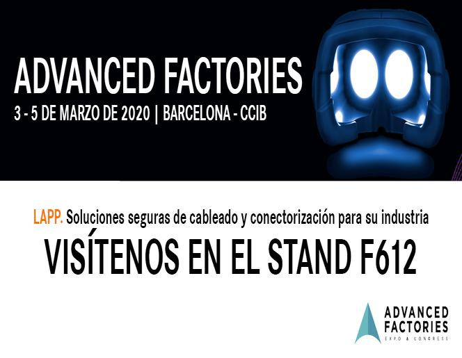LAPP en Advanced Factories