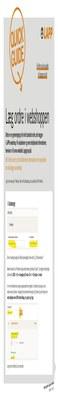 Quickguide - læg en ordre i LAPPs webshop