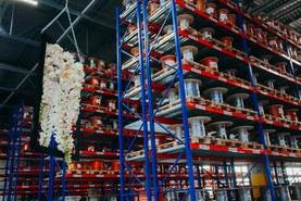 Новыйй склад Lapp Group на время мероприятия превратился в торжественный зал.