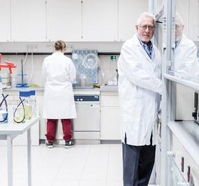 Tester pågår på ett av Lapps laboratorier
