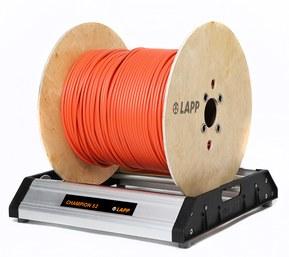 Champion - den nye robuste og lette kabelafruller fra LAPP