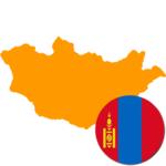 Mongolia 300x300 Flag