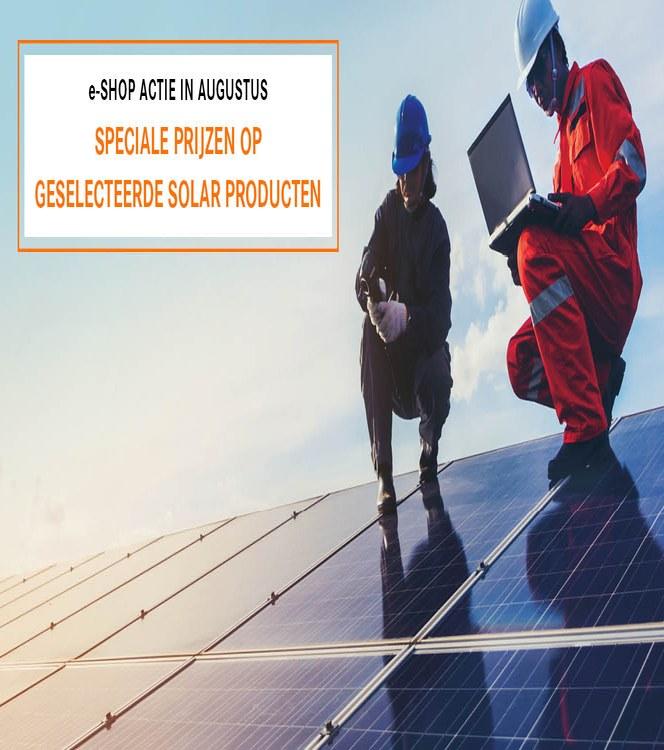Solar Banner LAPP Website Campaign NL