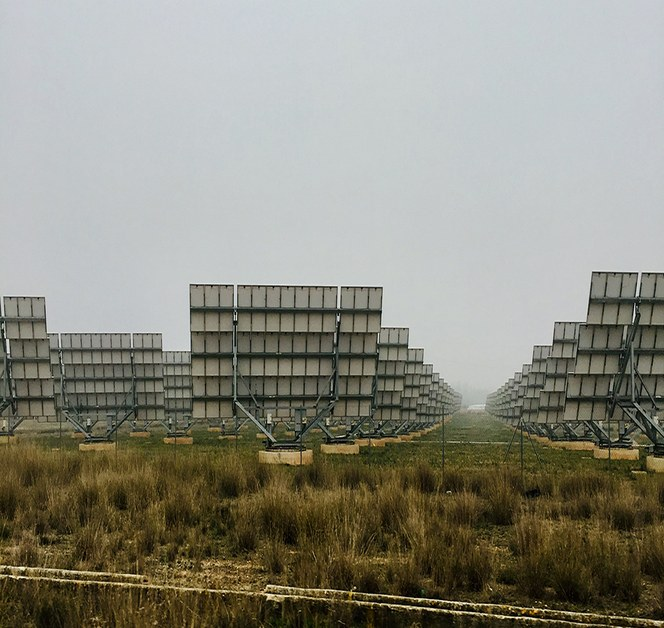 Solar photovoltaic park in Spain