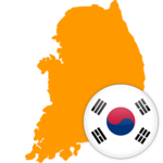 South Korea 300x300 Flag
