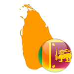 Sri Lanka 300x300 Flag