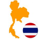Thailand 300x300 Flag