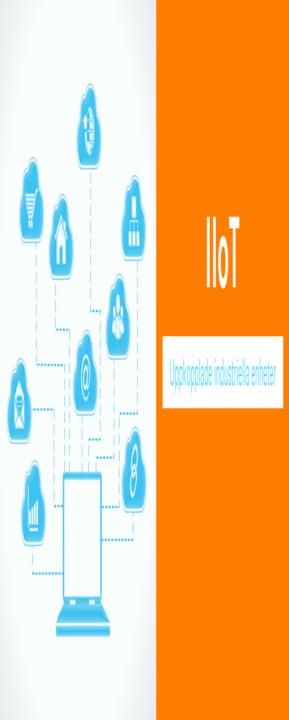 uppkopplade industriella enheter