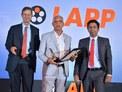 Wazir Chand Malik receiving the Best Dealer Award in Northern Region
