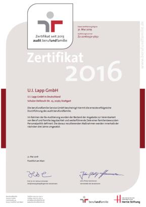 Zertifikat B F 2016