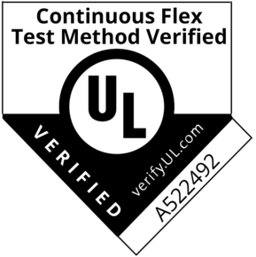 Approval - UL A522492 Cont Flex verified bold cropped Aug 2019