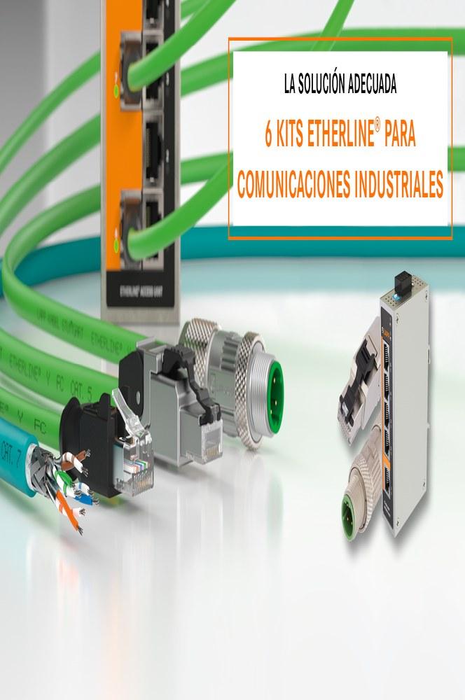 ETHERLINE® Kits para comunicación industrial