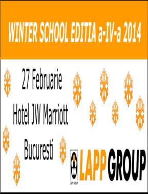 Winter School Editia a IV a 2014