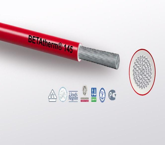 Betatherm 145 enleder fra Miltronic - fullgodt alternativ til RADOX® og TEXILINE®