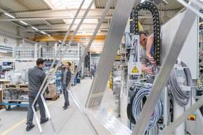 Kabelové řešení made by Lapp v Bystronic Glass