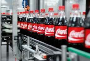 Coca-Cola bottling plant. Photo: Coca Cola