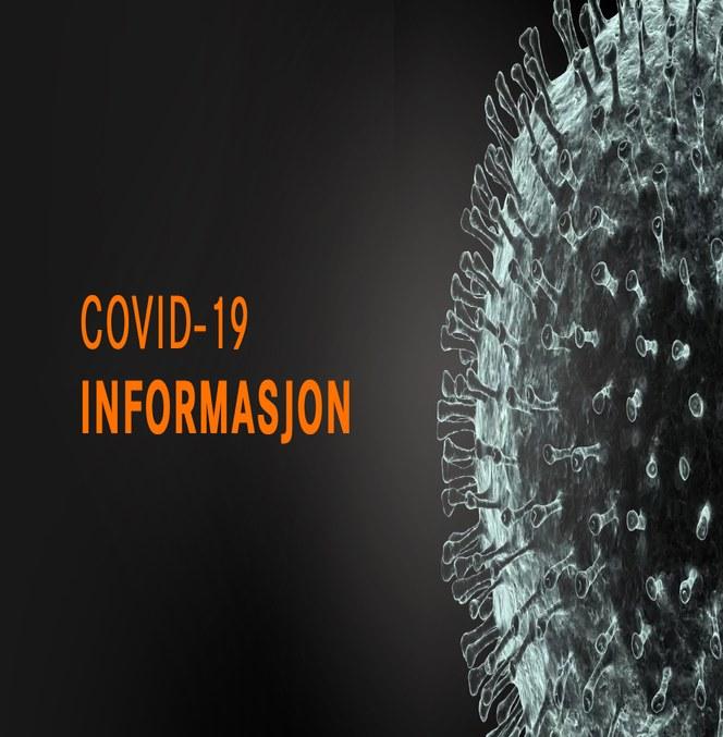 Informasjon om COVID-19 Coronavirus