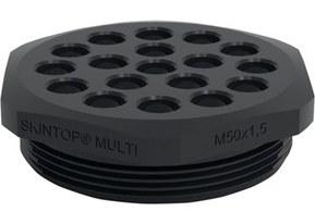 SKINTOP® MULTI-M multi kabelgennemføring med metrisk gevind