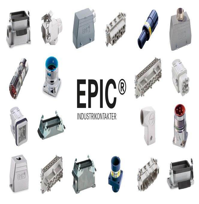 EPIC industrikontakter og komplette kits