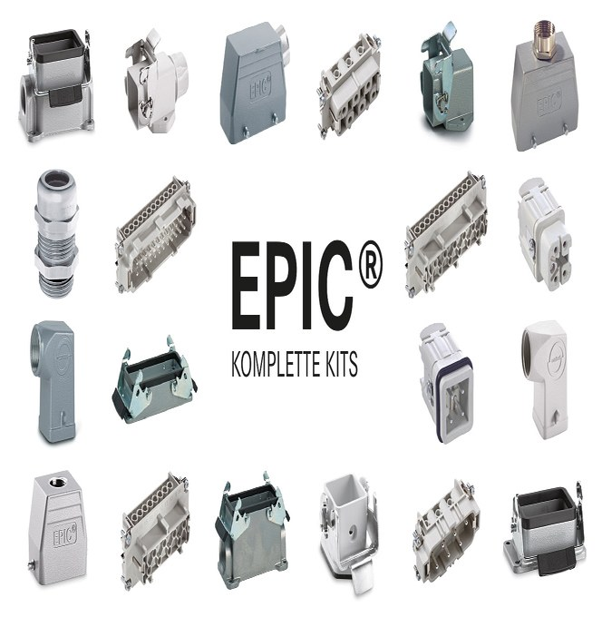 Komplette EPIC® KIT med alle deler du trenger til industrikontakter