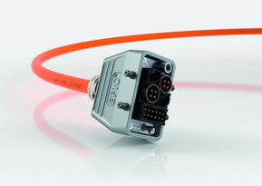 Noul conector rectangular EPIC® MH poate fi echipat cu diverse inserturi pentru diferite aplicatii in doar cativa pasi simpli
