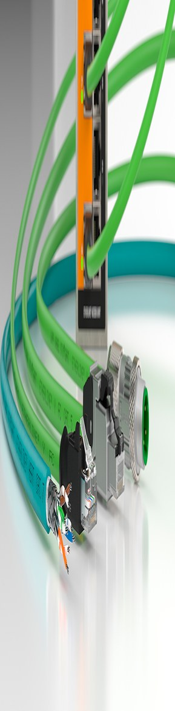 ETHERLINE® Ethernet kabler og konnektorer for høyhastighets datakommunikasjon i alle typer industrielle nettverk.