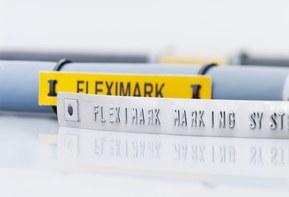 FLEXIMARK® merkesystem er et komplett system for merking av kabler, ledninger, slanger, rør og komponenter innen næringsmiddelindustrien.