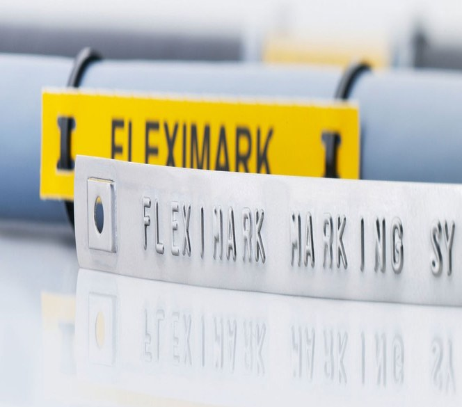 FLEXIMARK® tverrfaglig merkesystem for varig merking og identifisering av kabel, ledning, slanger og komponenter.