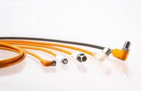Stort sortiment inden for M8 og M12 sensorkabler og tilbehør